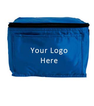 Six Pack Cooler with Front Pocket