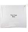 BLK-ICO-138 - Polyester Blend White Towel