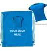 BLK-ICO-257 - Drawstring T-Shirt Backpack