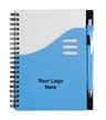 BLK-ICO-395 - Color Wave Notebook