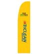 CT10086 - Yellow Tri Clean Flying Banner